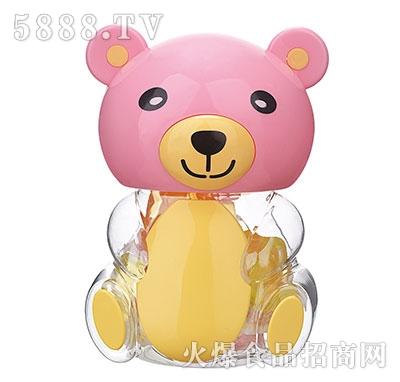 150g粉色小熊卡通玩具果冻产品图