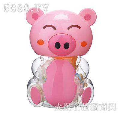 150g粉色小猪卡通玩具果冻产品图