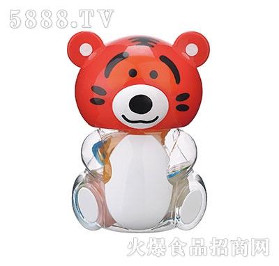 150g红色老虎卡通玩具果冻产品图