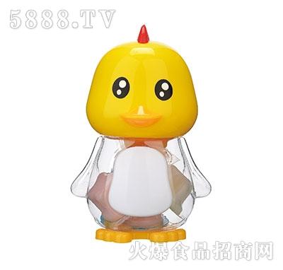 150g黄色小鸭卡通玩具果冻产品图