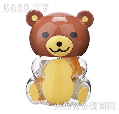150g棕色小熊卡通玩具果冻产品图