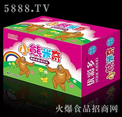 200mlx24瓶优彩多小熊米奇果奶味果味饮料