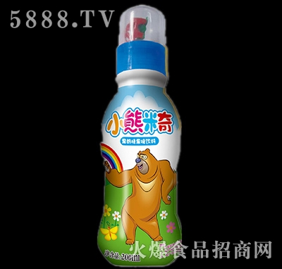 200ml优彩多小熊米奇果奶味果味饮料蓝