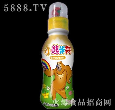 200ml优彩多小熊米奇果奶味果味饮料黄