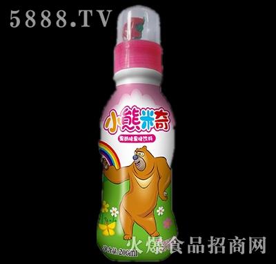 200ml优彩多小熊米奇果奶味果味饮料红