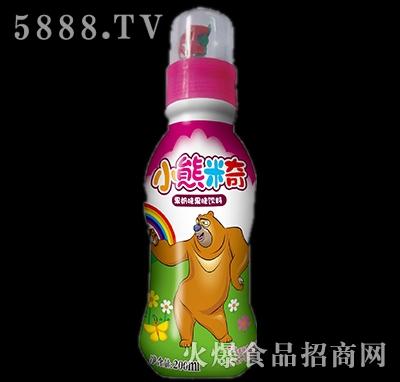 200ml优彩多小熊米奇果奶味果味饮料