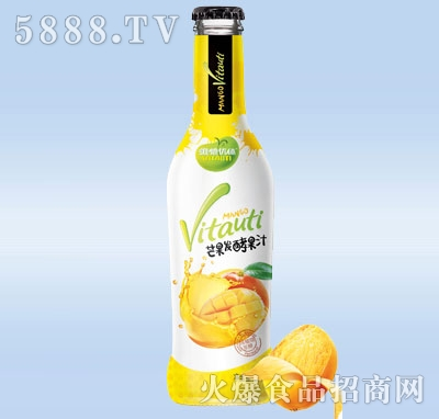 275ml维他优体发酵芒果汁