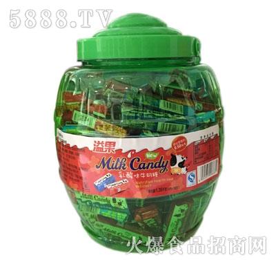 溢果乳酸牛奶糖(3粒酒桶)
