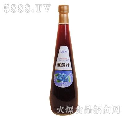 益生元蓝莓汁828ml