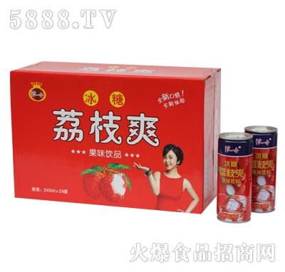 GZ04浓一香高拉罐冰糖荔枝爽规格1-24-240ml