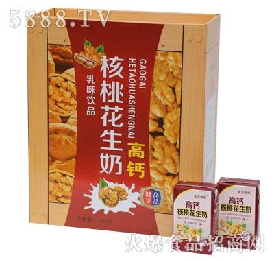 SL04麦克维斯高钙核桃花生奶木制礼盒规格250ml-16-4