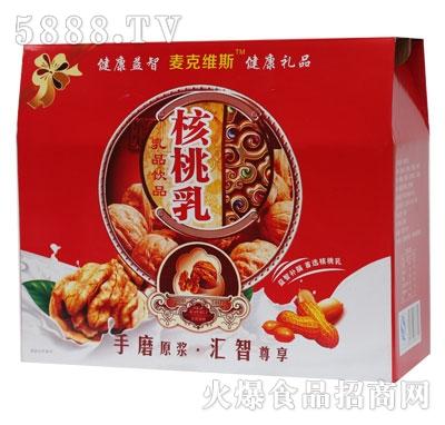 SL03麦克维斯高钙核桃乳屋顶式礼盒规格250ml-16-4