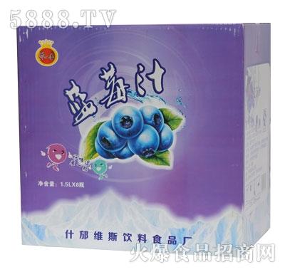 B01浓一香1.5L蓝莓汁规格1-6-1.5L