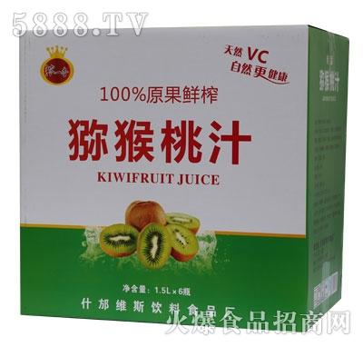 B02浓一香1.5L猕猴桃汁规格1-6-1.5L