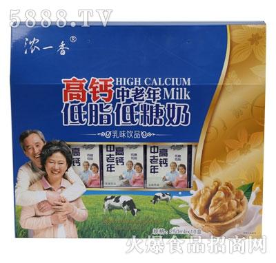 SL11浓一香高钙中老年低脂低糖奶单开窗礼盒规格250ml-10-5
