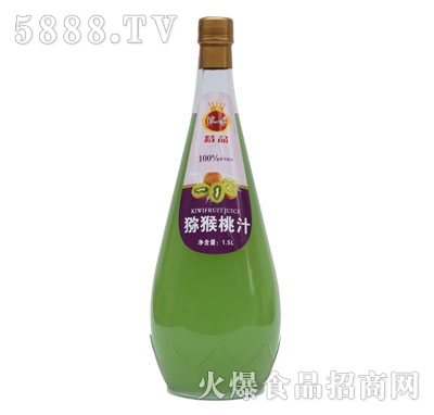 B02浓一香1.5L猕猴桃汁