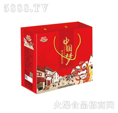 中国梦苹果醋礼盒