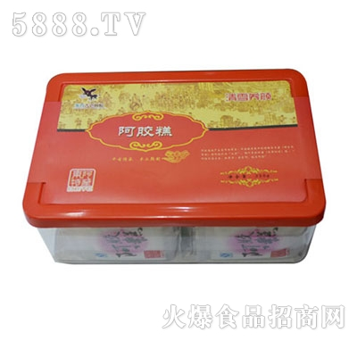 红枣枸杞型阿胶糕产品图