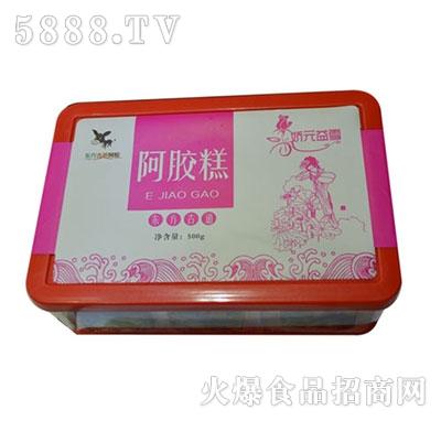 原味型阿胶糕盒装产品图
