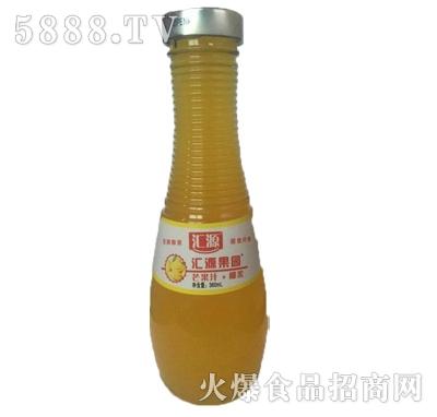 汇源果园芒果汁+椰果360ml