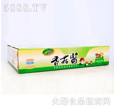 香辣香菇酱箱装|森园食用菌食品有限公司-火爆食品网.