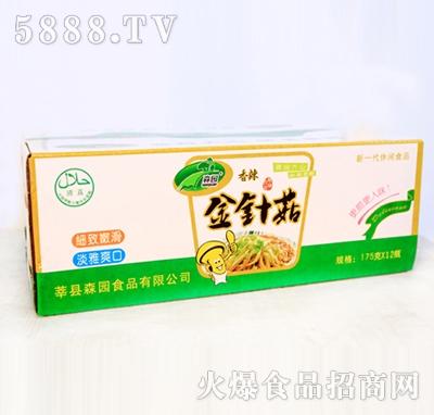 香辣金针菇整箱装|森园食用菌食品有限公司-火爆食品.