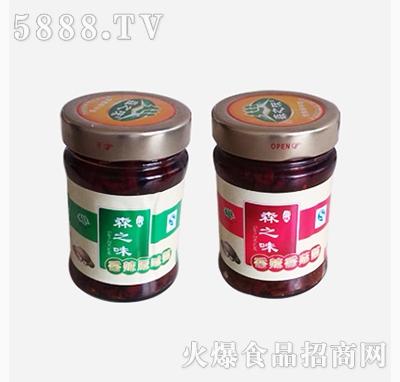 香菇酱两种|森园食用菌食品有限公司-火爆食品饮料网.