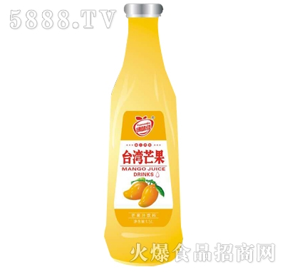 缘味佳台湾芒果果汁饮料1.5l