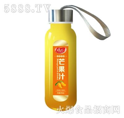 真心芒果汁350ml果汁饮料