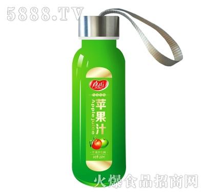 真心苹果汁350ml果汁饮料
