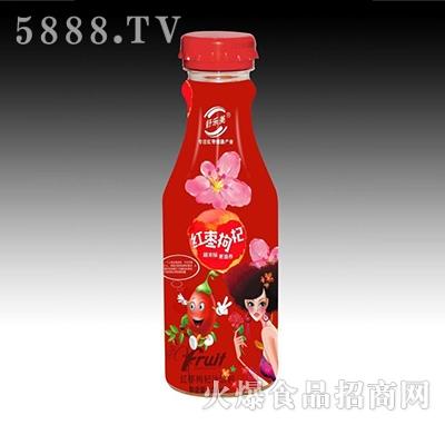 舒乐美红枣枸杞汁饮料500ml