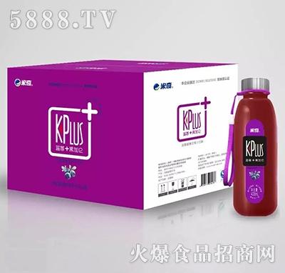 kplus+蓝莓+黑加仑复合果汁408ml×12瓶