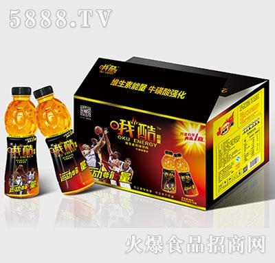 哦酷能量维生素饮料618mlx15瓶开箱装产品图