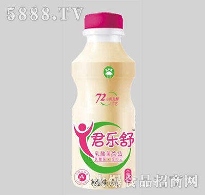 君乐舒水蜜桃味乳酸菌340ml