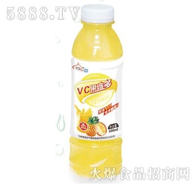 伊思源VC果维多菠萝味果汁饮料500ml