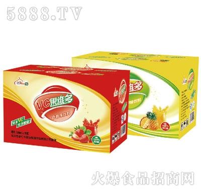 伊思源VC果维多果汁饮料500mlx15瓶