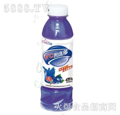 伊思源VC果维多蓝莓味果汁饮料500ml