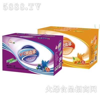 伊思源VC果维多蓝莓味果汁饮料500mlx15瓶