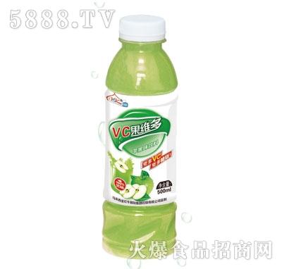 伊思源VC果维多苹果味果汁饮料500ml
