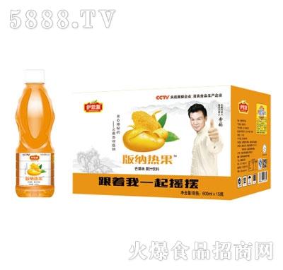 伊思源版纳热果芒果味饮料600mlx15瓶