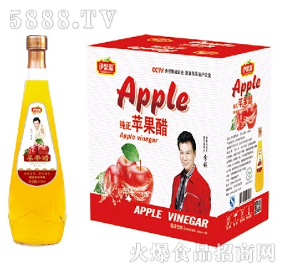 伊思源苹果醋饮料828mlx6瓶装产品图