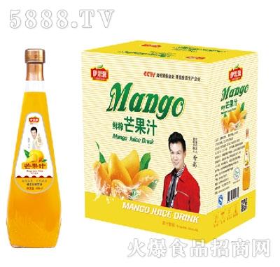 伊思源鲜榨芒果汁饮料828mlx6瓶