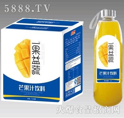 1lx6瓶一果益蔬芒果汁