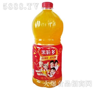 果粒多橙粒果味饮料2.58L