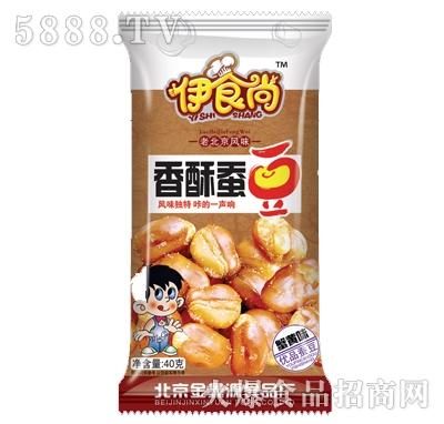 伊时尚40克香酥蚕豆蟹黄味