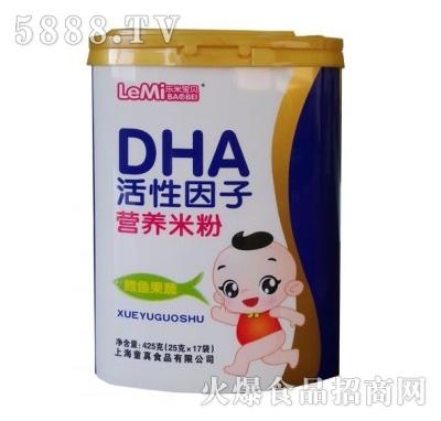 DHA活性因子营养米粉425g