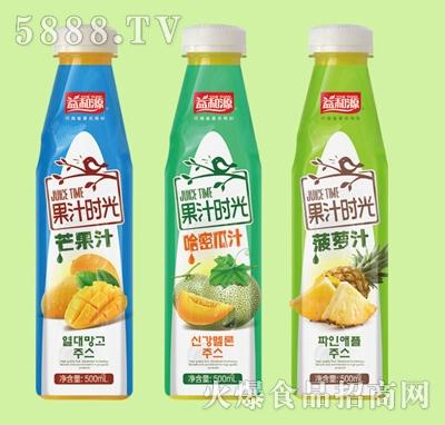 益和源500ml果汁时光饮料