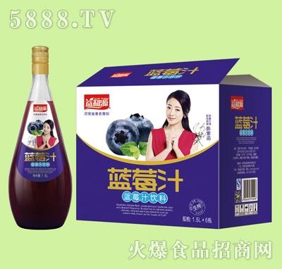 益和源蓝莓汁1.5Lx6瓶