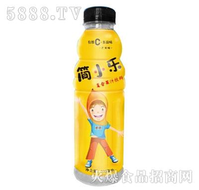 简小乐复合果汁饮料500ml芒果味