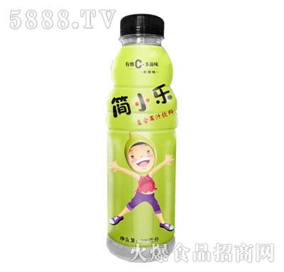 简小乐复合果汁饮料500ml柠檬味